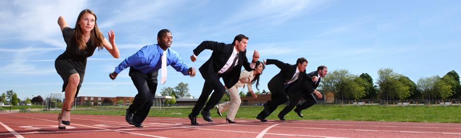 Tavoite, tahto, oikea asenne ja valmennus luo voittajan